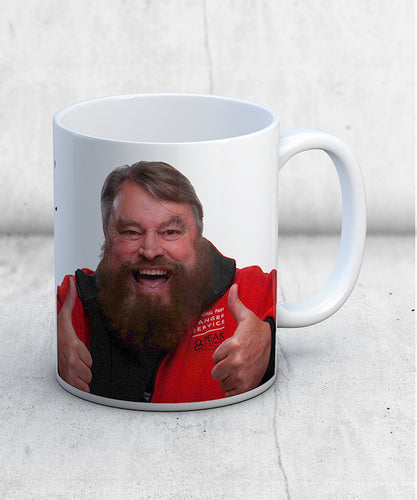 Brian Blessed Bastards Quote Mug 1