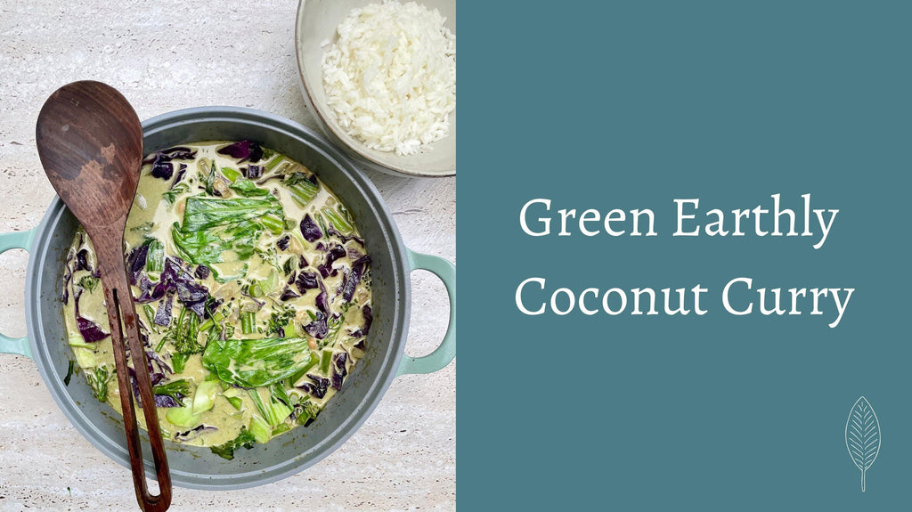 Green Earthly Coconut Curry - Eat Earthly