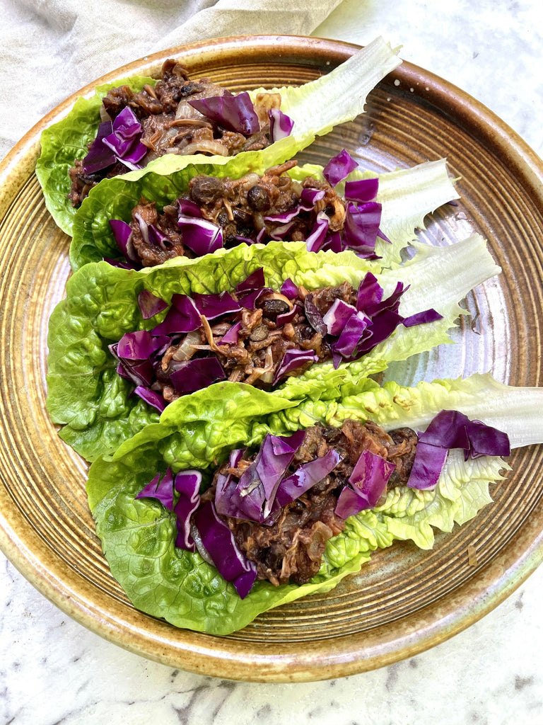 Jackfruit Lettuce Cups - Eat Earthly