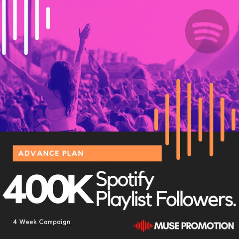 Advanced Plan - Pitch to 400K Playlist Followers