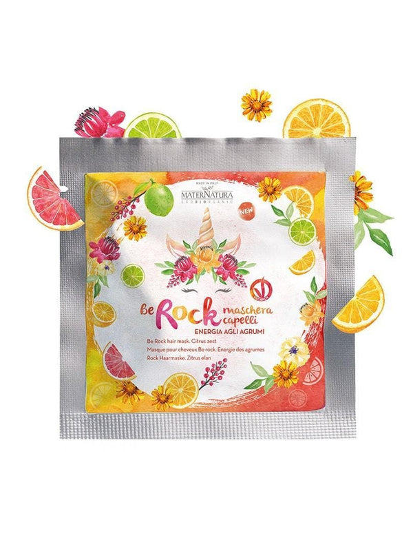 HAIR MASK Be rock CITRUS ENERGY