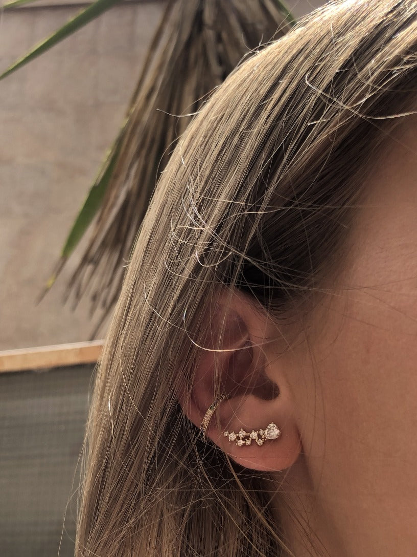 Spiked earring