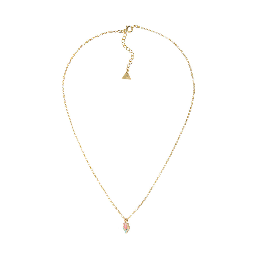 Gold Petite Tulip Necklace