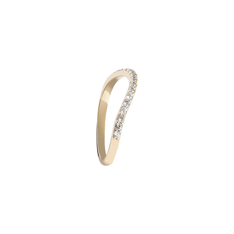 Complete your rainbow natural zircon ring - Wilhelmina Garcia