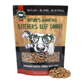 Butcher's Beef Dinner Grain Free Limited Ingredient Beef Dog Food - Bag and Product