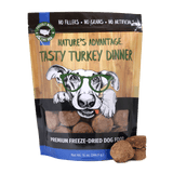 Tasty Turkey Dinner Turkey Dog Food - Bag and Product