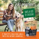 Craving Chicken Dinner Chicken Dog Food - pure ingredients