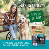 Minnows Grain Free Dog Treats - pure ingredients