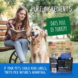 Tasty Turkey Dinner Turkey Dog Food - pure ingredients