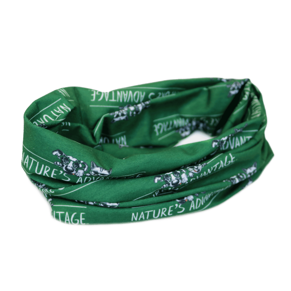 'Nature's Advantage' Logo Neck Gaiter Mask