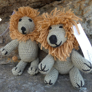 Crochet Lion Teddy