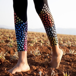 Stained Glass Batik Leggings