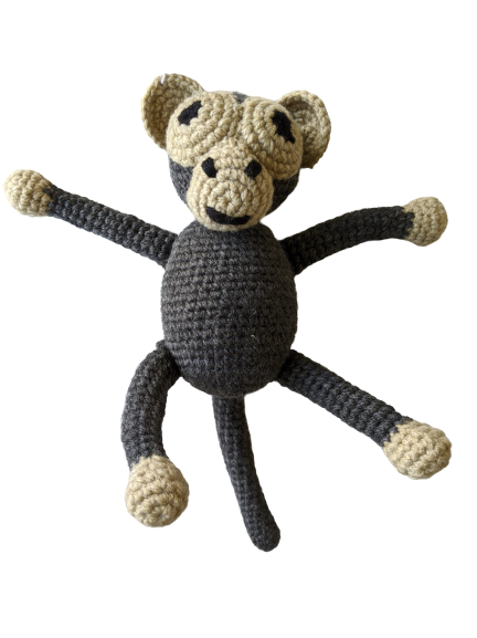 Crochet Monkey Teddy