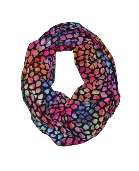 Stained Glass Womens Infinity Scarf