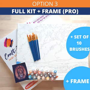 Classical Cat-DIY Painting By Numbers Kit