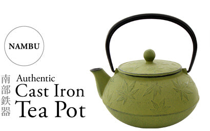 Made in Japan NAMBU Cast Iron Tea Pot From IWACHU tradition