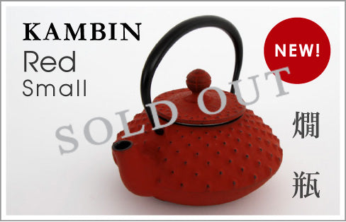 IWACHU Tetsubin Cast Iron Tea Pot KAMBIN Res Small