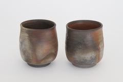 KOSHIMARU YUNOMI A pair of Tea Cups in a Paulownia wood box