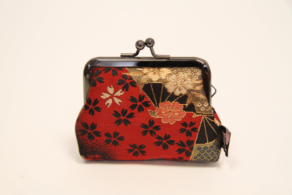 NISHIJIN Silk Coin Case Traditional