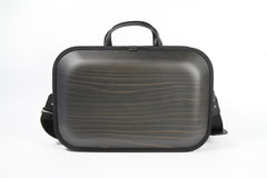 MONACCA Cedar Wooden Bag Black