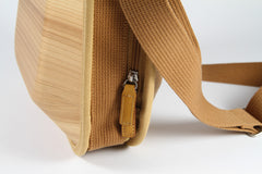 MONACCA Cedar Wooden Postman Bag Plain