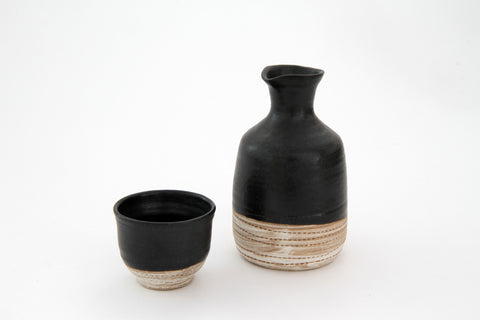 TOKONAME Sake Bottle & Cup