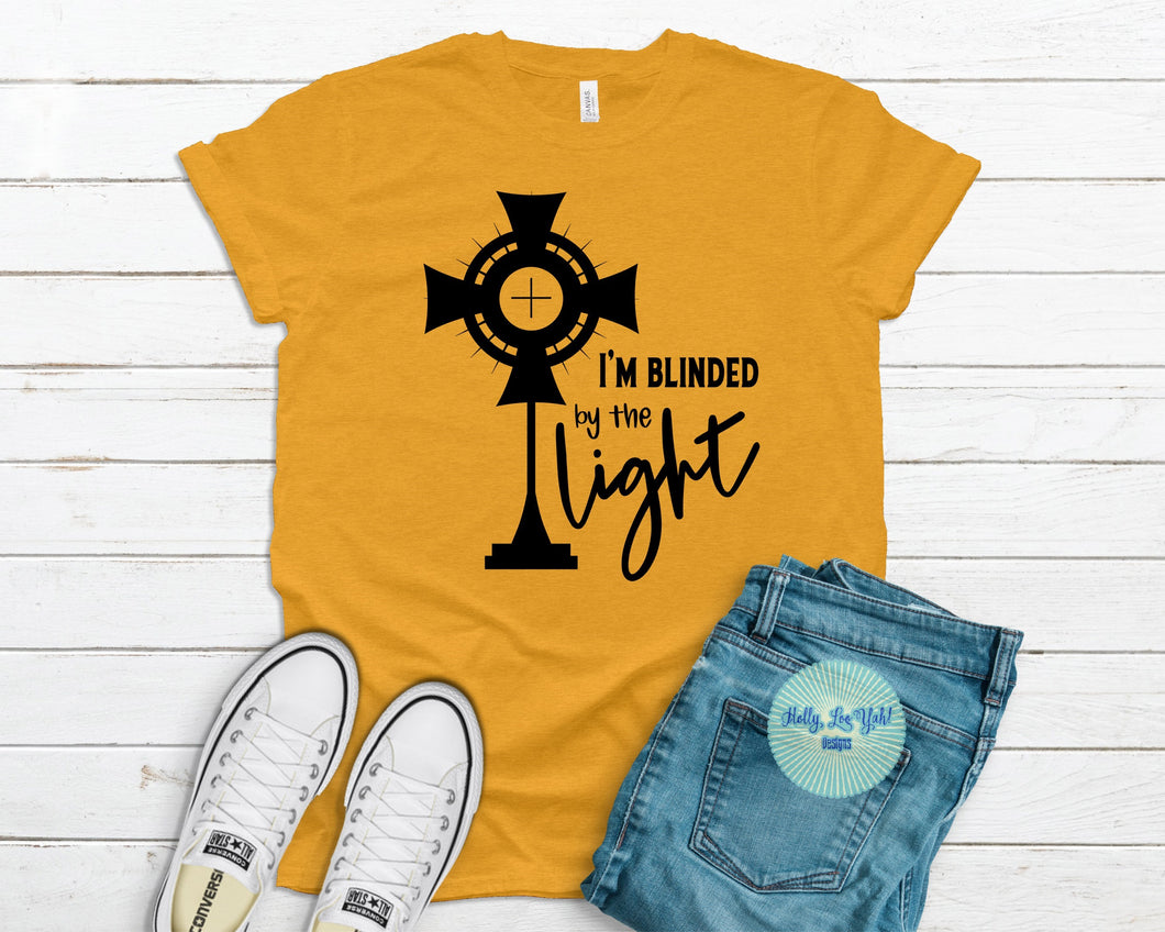 Blinded by the Light T-shirt Mustard