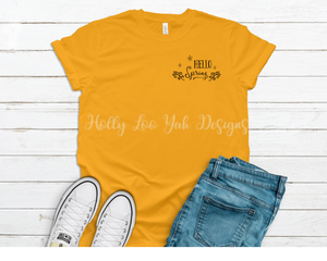 Hello Spring T-shirt *limited edition*