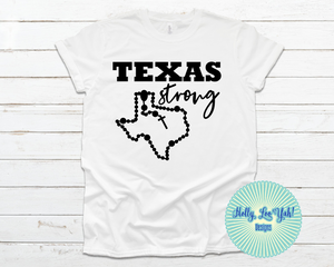 Texas Strong T-shirt White
