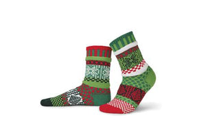 Mistletoe Crew Socks