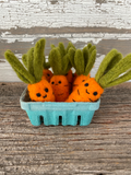 Wool Felted Carrot | 1 piece