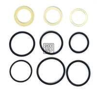 "KING 2.0 / DIRT LOGIC 2.25 AIR BUMP / AIR SHOCK SEAL REBUILD KIT W/ 1 1/4"" SHAFT"