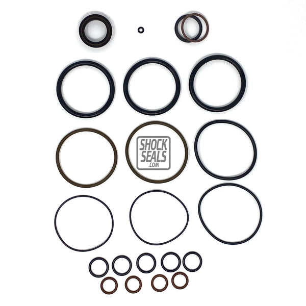 "KING 3.0 RACE SERIES SEAL KIT W/ 1"" SHAFT 2 3/4 RESERVOIR"