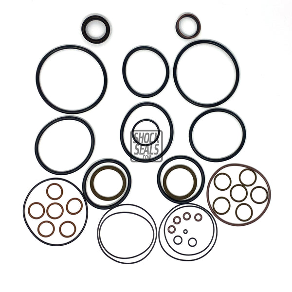 "KING 4.5 RACE SERIES SEAL KIT W/ 1 1/4"" SHAFT STANDARD & FIN RESERVOIR"
