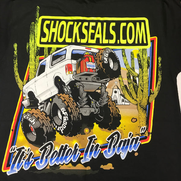SHOCKSEALS.COM BRONCO TEE