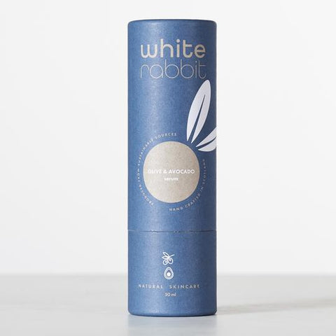 White Rabbit Skincare Olive & Avocado Serum with Pipette Lid 50ml