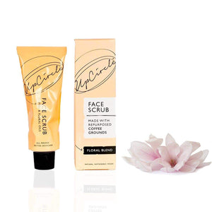 Upcircle Face Scrub - Floral Blend For Sensitive Skin- 100ml