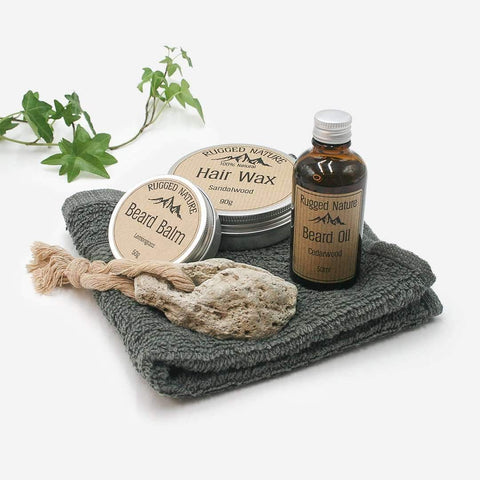 Rugged Nature 'The Natural Man' Wash Kit