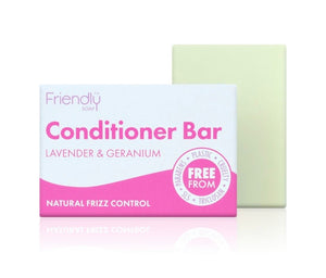 Friendly Soap Conditioner Bar - Lavender & Geranium