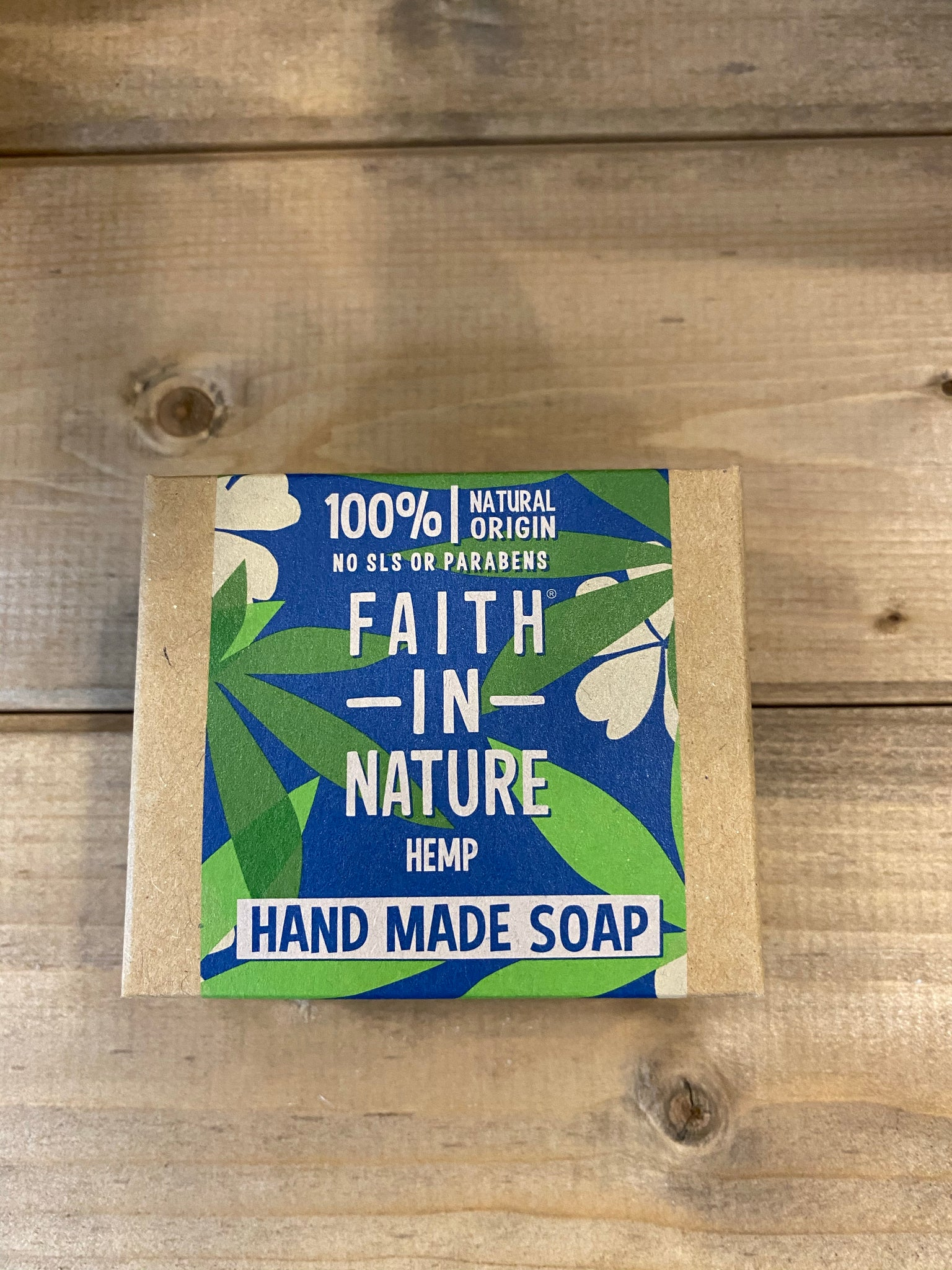 Faith in Nature Hemp Hand Made Soap