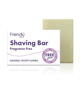 Friendly Soap Fragrance Free Shaving Bar
