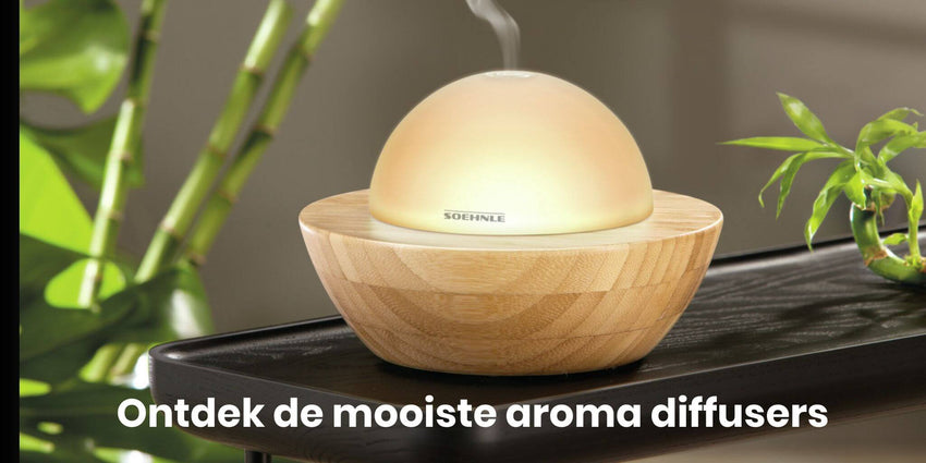 Aroma diffusers - Shopvoorgezondheid
