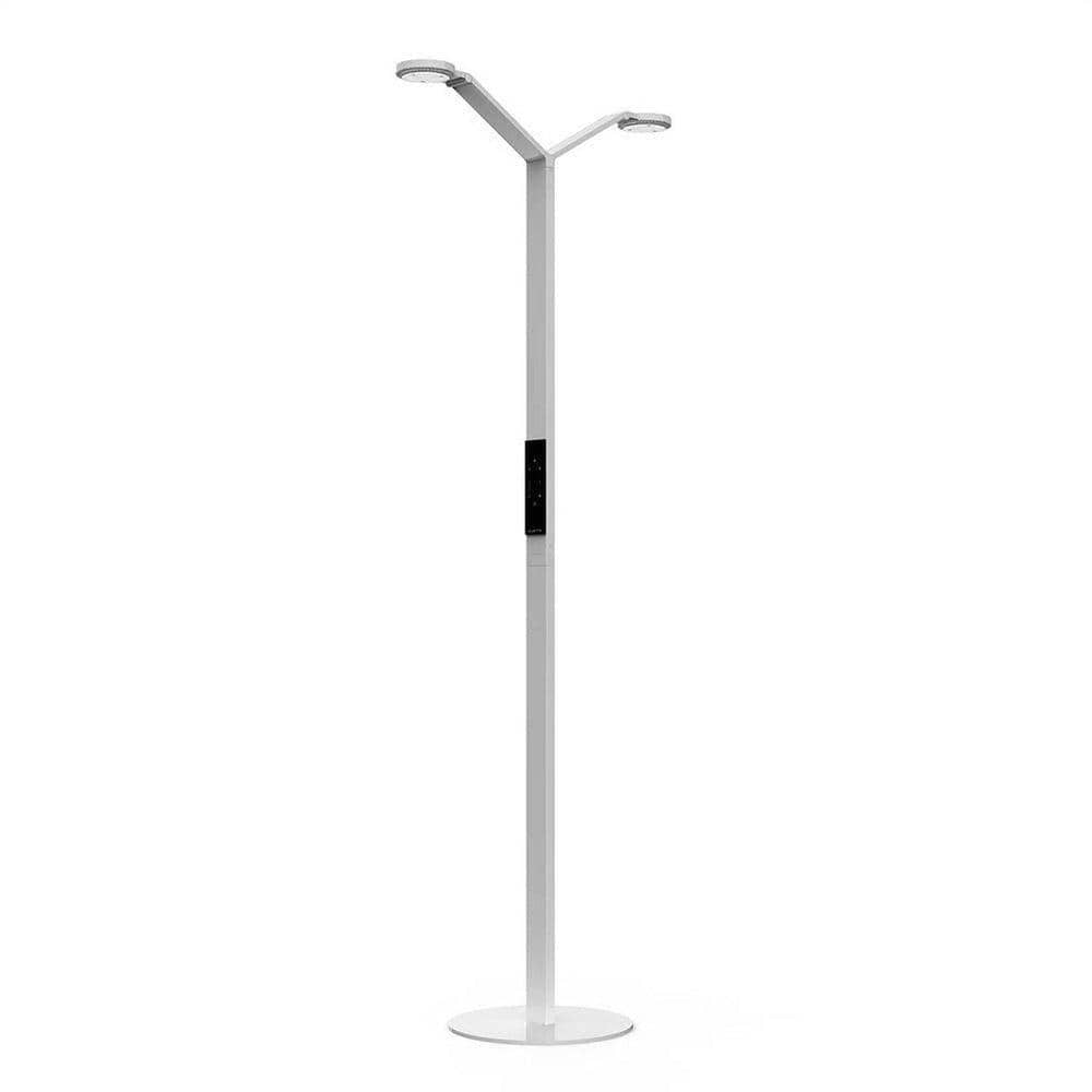 Luctra Radial Floor Twin dubbele vloerlamp (wit)