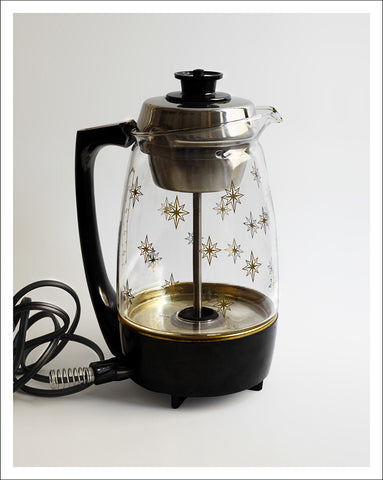coffee percolator unframed