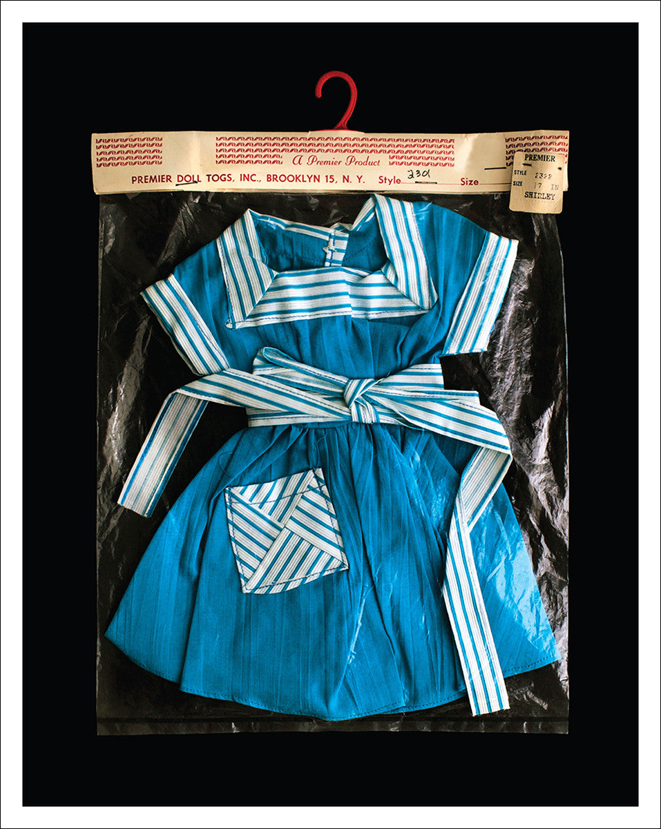 dolls dress unframed