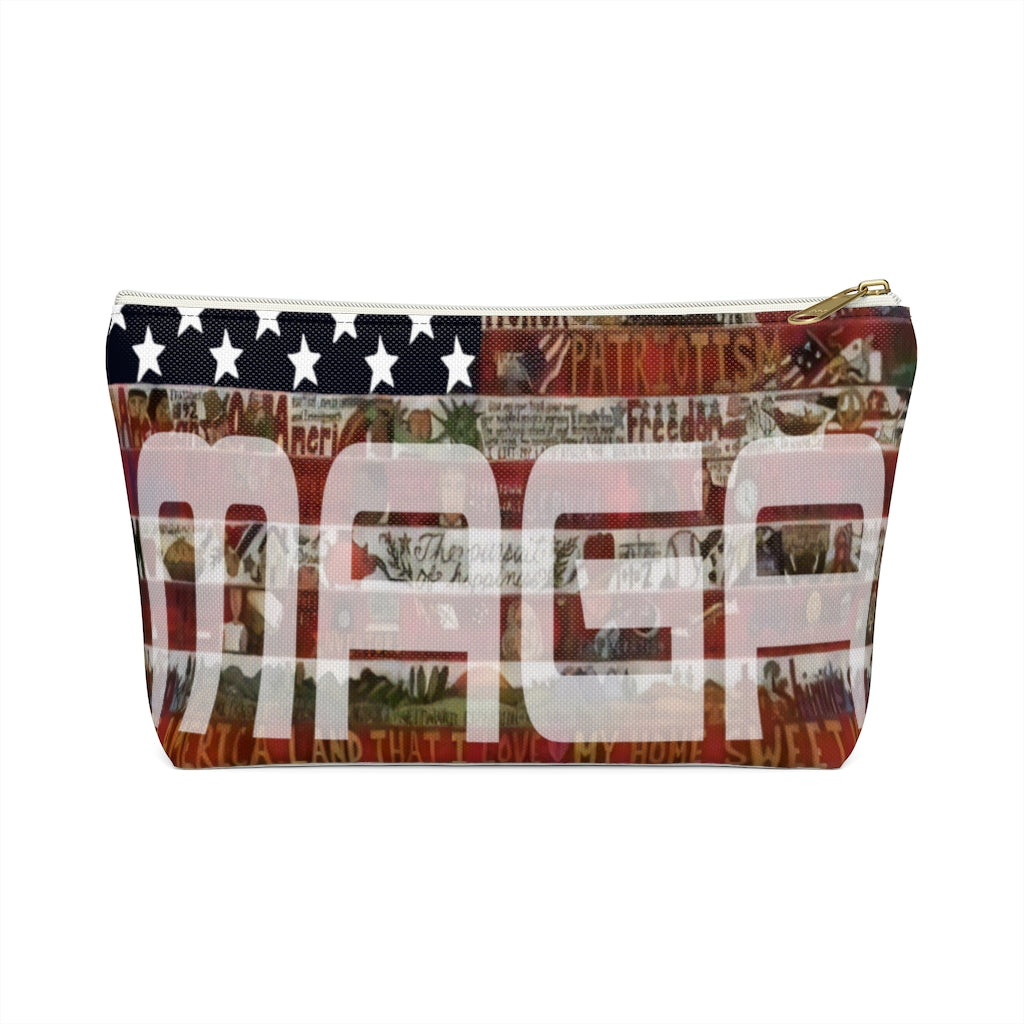 MAGA Accessory Pouch w T-bottom