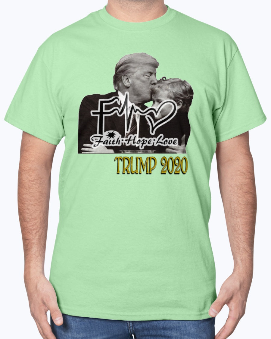 FHL Gold Trump 2020 Gildan Cotton T-Shirt for men and women