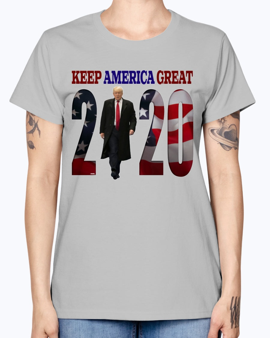 """The Boss"" KAG 2020 Gildan Ladies Missy T-Shirt"