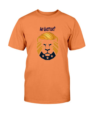 His/Hers LionTrump Fruit of the Loom Cotton Tshirt