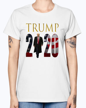 """The Boss"" TRUMP 2020 Gildan Ladies Missy T-Shirt"
